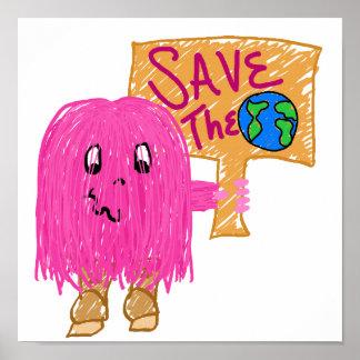 reserva del rosa el planeta posters