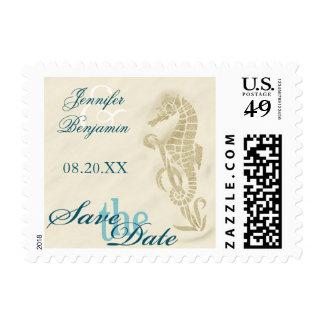 Reserva del Seahorse los sellos de fecha