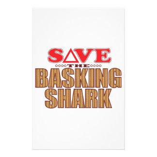 Reserva del tiburón que toma el sol papeleria de diseño