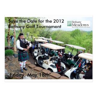 Reserva del torneo del golf la postal de la fecha