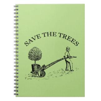 Reserva del vintage el cuaderno 2 de los árboles