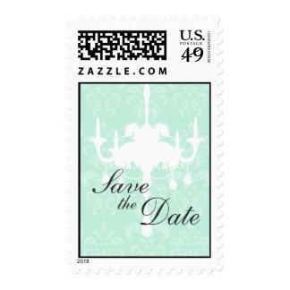 Reserva del vintage el franqueo de la fecha timbres postales