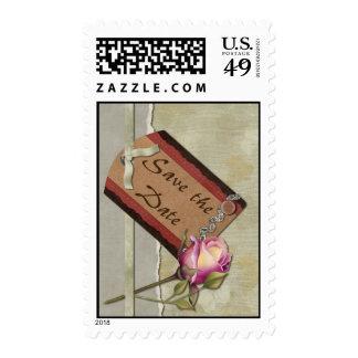 Reserva del vintage la fecha sello