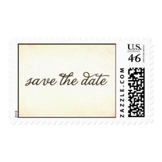 reserva del vintage la fecha sellos