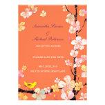 Reserva dulce del boda de Sakura las invitaciones  Invitación Personalizada