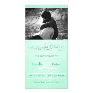 Reserva dulce del estilo del poster de la verde me tarjetas fotograficas personalizadas