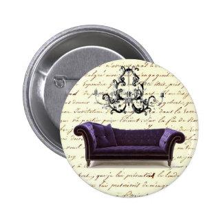 Reserva elegante lamentable de la lámpara del sofá pins