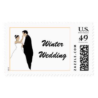 Reserva estacional del invierno las fechas sello