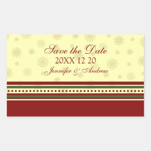Reserva festiva los pegatinas del boda del pegatina rectangular