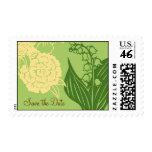 Reserva floral de Contempo (pepino/crema) la fecha Sellos