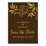 Reserva floral del boda de los peonies de la hoja anuncios personalizados