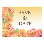 Reserva floral del boda de Ombre la postal de la f