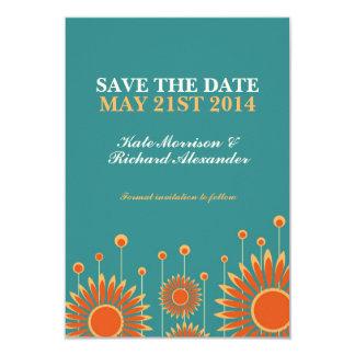 Reserva floral del girasol del verano la tarjeta anuncio