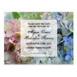 Reserva floral moderna las postales del boda de la