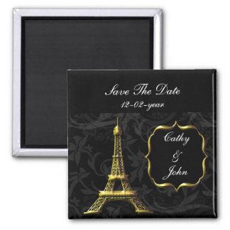 reserva francesa del boda de la torre Eiffel del o Iman