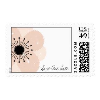 Reserva francesa rosada del boda de la anémona la sellos