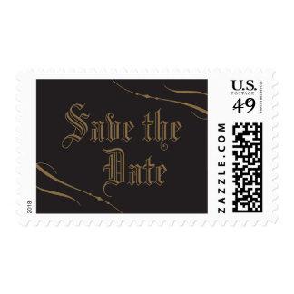 Reserva gótica la fecha sello