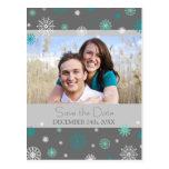 Reserva gris de la foto las postales del boda del