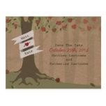 Reserva inspirada cartulina del manzanar la fecha tarjetas postales