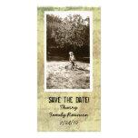 Reserva lamentable antigua de la foto las tarjetas tarjetas fotograficas