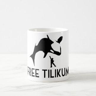 Reserva libre de Tilikum la orca de la orca Tazas