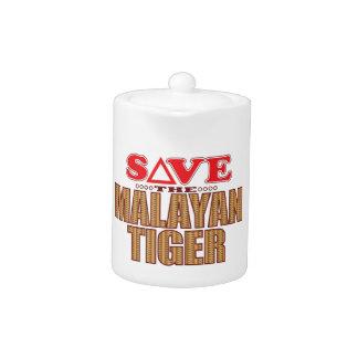 Reserva malaya del tigre