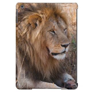 Reserva nacional de Maasai Mara del león, Kenia Funda Para iPad Air