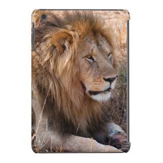 Reserva nacional de Maasai Mara del león, Kenia Funda De iPad Mini