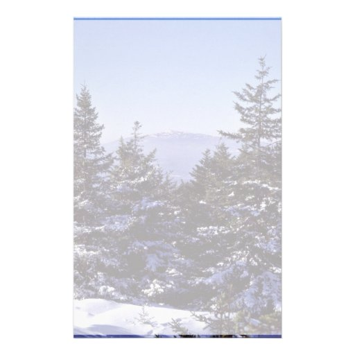 Reserva nacional de Wapack, invierno escénico Papeleria De Diseño