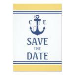 Reserva náutica la fecha comunicado personalizado