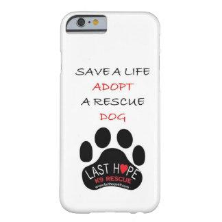 Reserva pasada del caso del iPhone 6 del rescate Funda Barely There iPhone 6