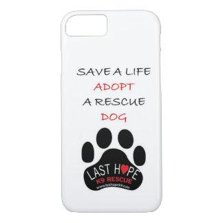 Reserva pasada del caso del iPhone 7 del rescate Funda iPhone 7