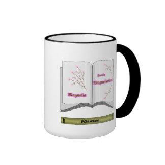 reserva plantan magnolien tazas de café