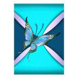 Reserva púrpura de RSVP de la mariposa del trullo  Comunicados