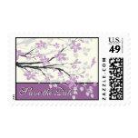 Reserva púrpura del boda de la rama de la magnolia envio