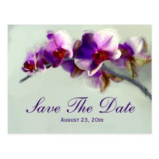 Reserva radiante de la pintura de la orquídea la i postales