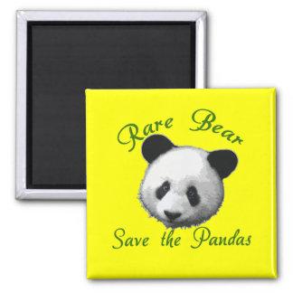 Reserva rara del oso las pandas imán de nevera