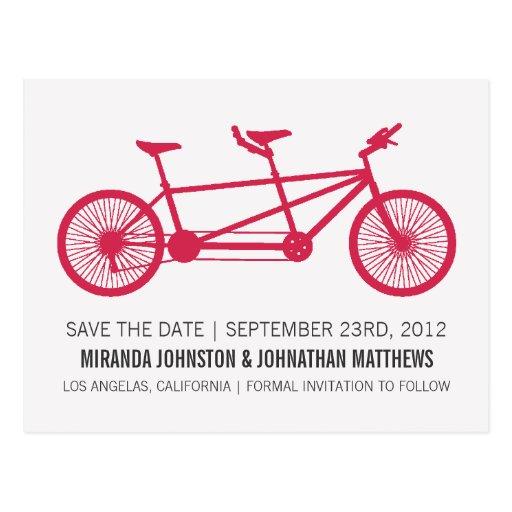 Reserva roja de la bicicleta las postales de la fe
