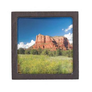 Reserva roja de la roca del barranco de la natural cajas de regalo de calidad