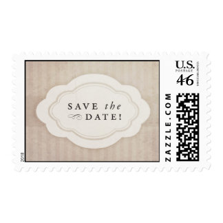 Reserva rústica de la crema del vintage los sellos