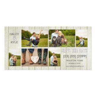 Reserva rústica del país las tarjetas de la foto tarjetas fotograficas personalizadas