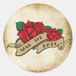 Reserva subió tatuaje del Rockabilly los sellos de Etiqueta