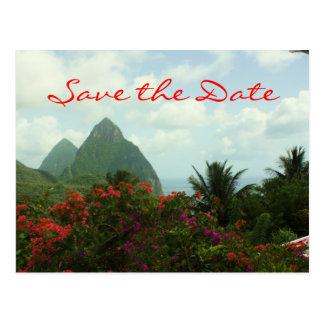 Reserva tropical del paraíso la postal de la fecha