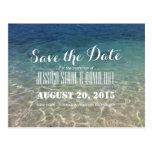Reserva tropical hermosa del boda de playa la tarjetas postales