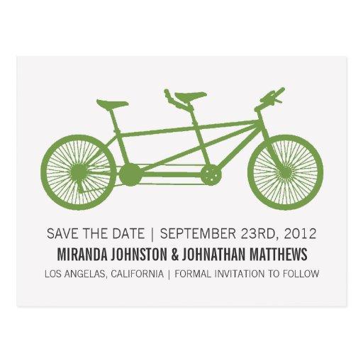 Reserva verde de la bicicleta las postales de la f