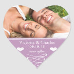 Reserva violeta del boda de la pizarra el sello de