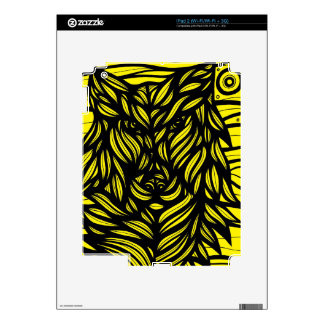 Reservado clásico agradable dinámico calcomanías para el iPad 2