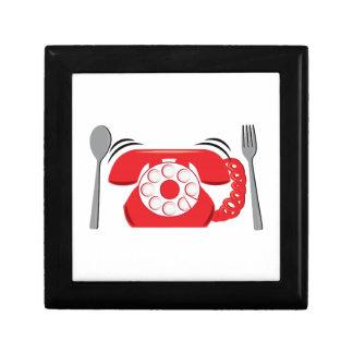 Reservas de cena caja de recuerdo