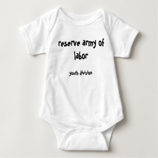 Reserve Army of Labor: Youth Division Baby Bodysuit