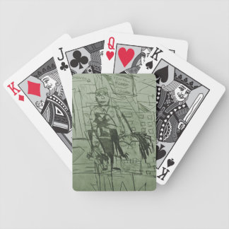 RESERVE DISCOUNT WINDOW BICYCLE PLAYING CARDS
